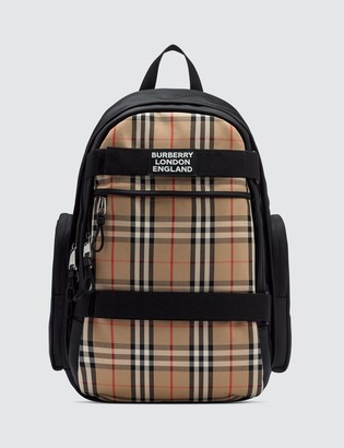 Burberry Large Vintage Check Panel Nevis Backpack