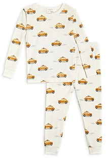 FIRSTS BY PETIT LEM Firsts by petite lem Unisex Taxi Print Pajama Set - Baby