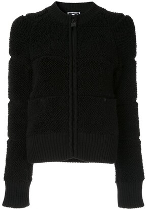 Chanel Pre Owned Textured Zipped Jacket