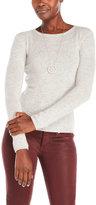 Qi Petite Crew Neck Sweater