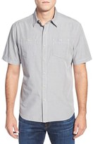 Tommy Bahama Men's Island Modern Fit Microcheck Sport Shirt