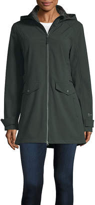 Free Country Hooded Water Resistant Fleece Lined Lightweight Anorak