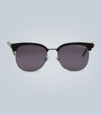 Bottega Veneta Square-frame tinted sunglasses