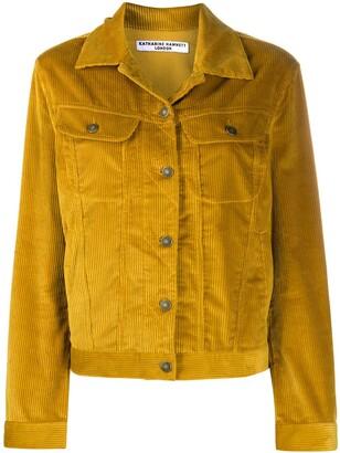 Katharine Hamnett Keith corduroy-style jacket