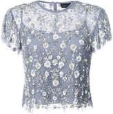 Needle & Thread sequin appliqué blouse