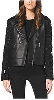 Michael Kors Studded Leather Jacket