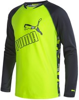 Puma Technical T-Shirt - Long Sleeve (For Little Boys)