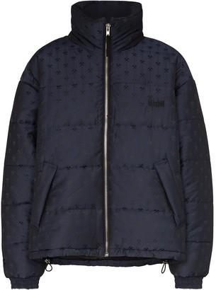 Gmbh Debs logo print padded jacket