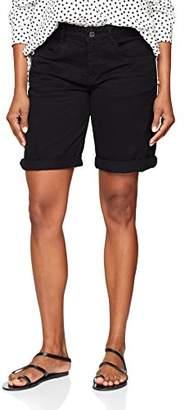 S'Oliver Women's 14.804.74.4822 Bermuda Shorts, (Black 9999), UK 8