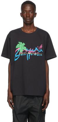 Gucci Black Hawaii T-Shirt
