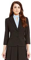 Antonio Melani Mel Quilted Suiting Notch Lapel Jacket