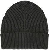 Maison Margiela Knit Wool Beanie Black Hat