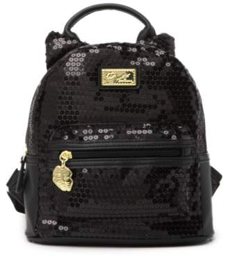 Betsey Johnson LUV BETSEY BY Ballie Mid Sized Sequin Unicorn Backpack