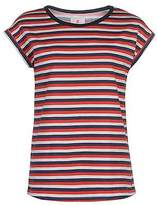 Soul Cal SoulCal Womens Deluxe Striped T Shirt Tee Top Crew Neck Short Sleeve Regular Fit