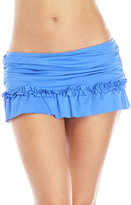 Kenneth Cole Reaction Ruffle Skirt Bikini Bottom