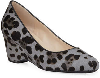 Cole Haan The Go To Wedge Leopard-Print Pumps