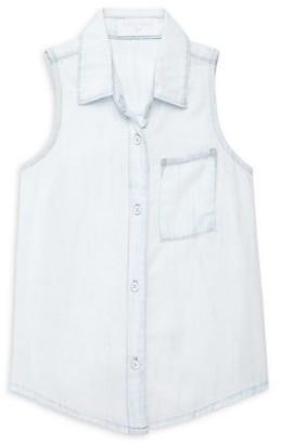 Bella Dahl Little Girl's & Girl's Frayed Seam Shirt