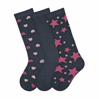 Sterntaler Girl's Knee socks 3Er-Pack Calf Socks Calf Socks