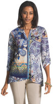 Chico's Nadia Eclectic Print Tunic