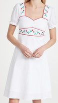 Thumbnail for your product : HVN Zoey Sweetheart Midi Dress