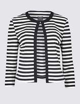 Marks and Spencer Striped Jersey Blazer