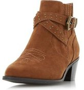 Dorothy Perkins Womens *Head Over Heels by Dune 'Paxx' Brown Ankle Boots- Brown