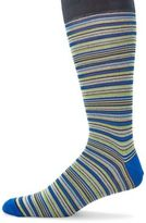 Saks Fifth Avenue COLLECTION Multicolored Striped Socks