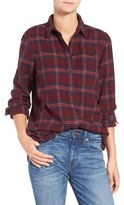 Madewell Shrunken Boyfriend Shirt