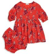 Splendid Baby's Two-Piece Floral-Print Dress & Bloomers Set