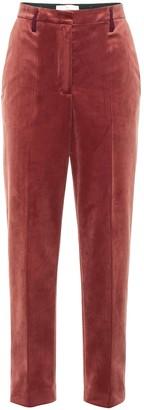 Golden Goose Golden velvet high-rise pants