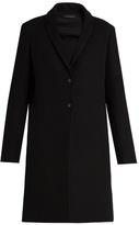 The Row Brooxi wool-twill coat