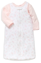 Little Me Girls' Petals Top & Sleep Bag Set - Baby