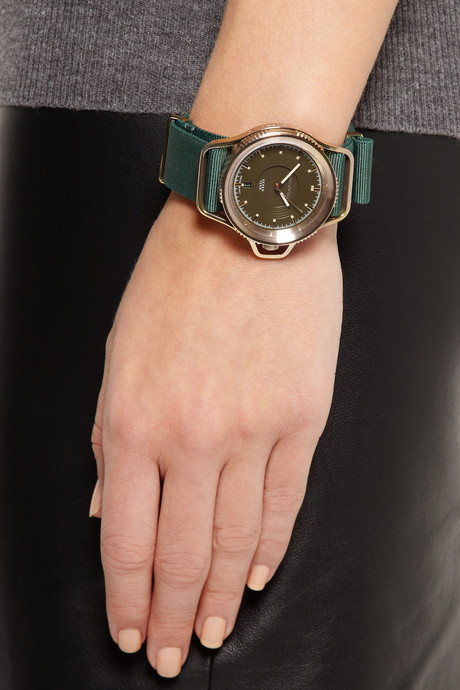 Givenchy Seventeen watch in gold PVD-plated stainless steel