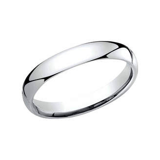 MODERN BRIDE Womens 3 Mm Platinum Wedding Band