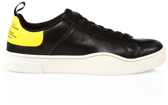 Diesel Clever Low-Top Leather Sneakers