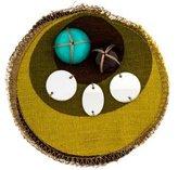 Miu Miu Embellished Fabric Brooch