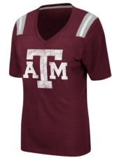 Colosseum Women's Texas A & M Aggies Rock Paper Scissors T-Shirt