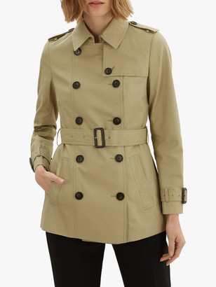 Jaeger Short Cotton Trench Coat
