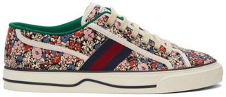 Gucci Multicolor Liberty London Edition Tennis 1977 Sneakers
