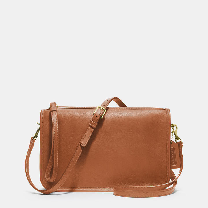 Coach Classic Basic Bag In Leather
