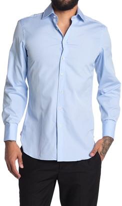 Thomas Pink Core Poplin Tailored Fit Shirt