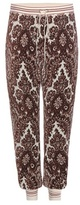 Chloé Printed Velour Track Pants