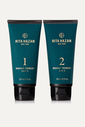RITA HAZAN Weekly Remedy Treatment, 2 X 59ml