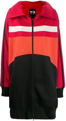 Y-3 colour contrast logo jacket