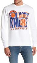 Mitchell & Ness NBA Knicks Fleece Crew Neck Sweater