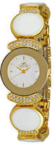 Adee Kaye Genuine NEW Women's Crystal Collection Watch - AK8401-GWT