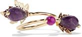 Rosantica Acacia gold-tone stone ring