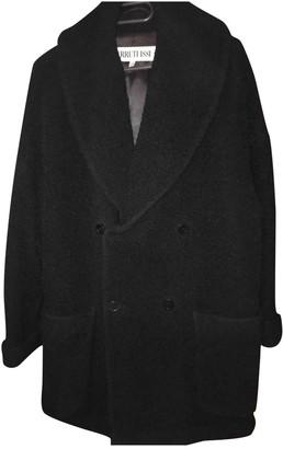 Cerruti Black Wool Coat for Women Vintage