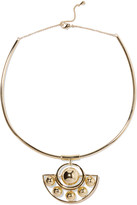 Noir Albedo gold-tone necklace