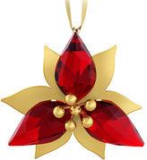 Swarovski Poinsettia Crystal Ornament
